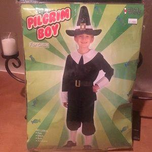 Pilgrim Child Boy's Costume - Thanksgiving